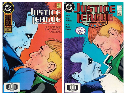 Justice League International Issues 18 and 19