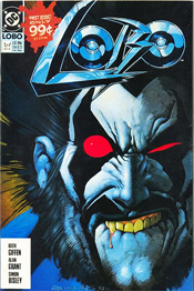 Lobo 1 Cover from 1990