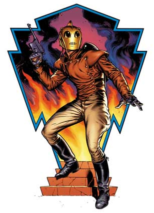 The Complete Rocketeer will be released in early December, through IDW Publishing.