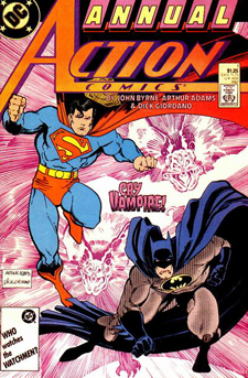 Action Comics Annual 1, from 1987.