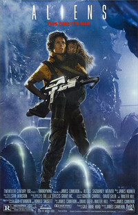 "Theatrical poster for 1986's ""Aliens"""