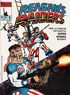 Solson Publications' Reagan's Raiders, from 1986.