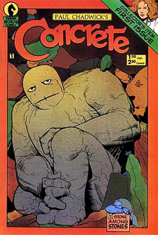 First issue of Paul Chadwick's Concrete.