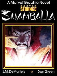 The Doctor Strange: Into Shamballa original graphic novel, from 1986.