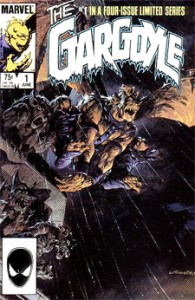 Bernie Wrightson's first issue cover, for the 1985 Gargoyle limited series.