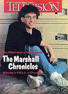 Joshua Rifkind, on the cover of a local Boston TV Guide, from 1990.