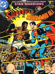 DC's oversized Superman vs. Muhammad Ali, from 1978.