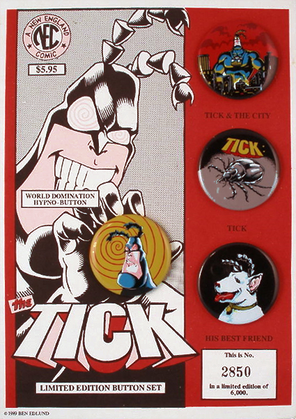 Tick Button Set