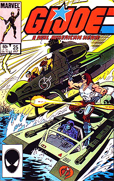 Zartan's first appearance in G.I. Joe #25.