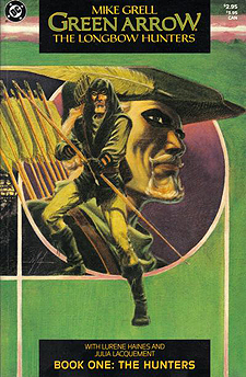 Green Arrow: The Longbow Hunters issue 1, from 1987
